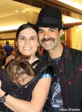 Band manager Jenna, and Dan Lebo Lebowitz