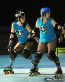 Nor Cal Roller Girls bout at Cal Skate, Chico, Calif. May 12, 2012