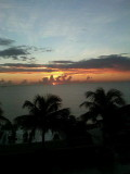 Fort Lauderdale Wed morn from our condo