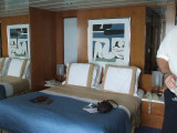On Celebrity our cabin