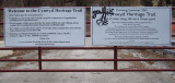 March 2011: ready to build the new Cynwyd Heritage Trail