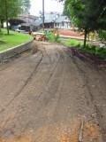 de-paved ramp