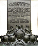Colored Soldiers MemorialSouthSide