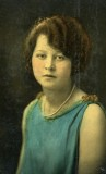 Gertrude Rick-Martini, c1923. She died about a year later.
