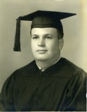 Robert Martini, Sacred Heart graduation portrait, 1941