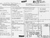 Townsley PSR Floor Plan & Data Sheet