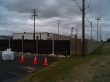 Installed gate on Chelsea @ Louisville. Looking east. 5/14