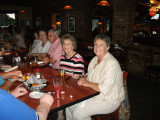 Our traveling function, Mary Jo Johnston, Rt. attends her first SupperClub