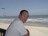 My son, Chis in Daytona.