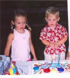 Abby & Bradford @ Bradford's Second Birthday