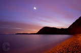 Sidmouth after sunset