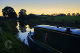 Tiverton Canal at night