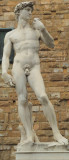 Replica of Michelangelo's David, Florence