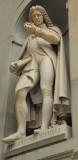 Pier Antonio holds forth near the Uffizi, Florence