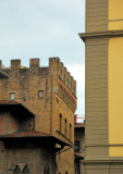 A tower and a column in Florence
