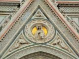 Front panel detail,Duomo, Florence