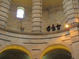 Looking down in the Baptistry, Pisa