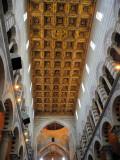 Looking up, in the Duomo, Pisa