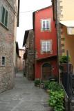 The curving laneway, Montecatini Alto