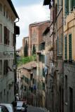 Steep street, Siena