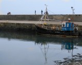 The old boat in the harbour