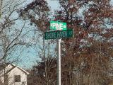 East Pine avenue and  Shore Haven court
