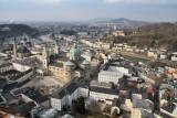 Vista de Salzburg desde la Hohensalzburg