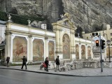Salzburg. Von Karajan Platz