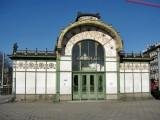 Karlsplatz. Otto Wagner Pavillion