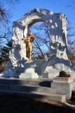 Stadtpark. Monumento a Johann Strauss