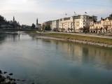 Rio Salzach desde el Staatsbrucke