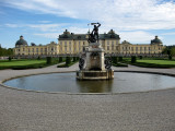 Drottningholm Palace. Hercules Fountain