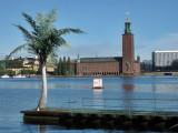 Stadshuset (Town Hall) seen from Soder Malarstrand