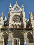 Catedral de León. Fachada Sur