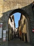 Cortona. Antiguas murallas etruscas