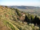 La Toscana. Vista desde Cortona