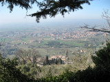 Vista desde Cortona