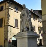 Arezzo. Piazza San Francesco