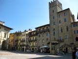 Arezzo. Piazza Grande