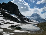 Zermatt. Rotenboden area