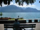 Montreux. Lac Léman promenade