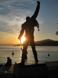 Montreux. Statue of Freddie Mercury