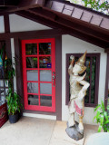 Byodo Inn door