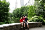 Mike and Kids in Central Park