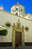 blue sky in Cadiz