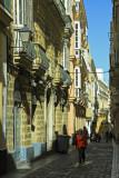 balconies in Cadiz