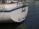 close up of stern