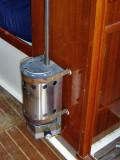 heater, fwd of head door