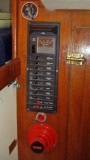 electrical breakers to strbdt of companionway ladder