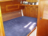 fwd cabin, port, double berth